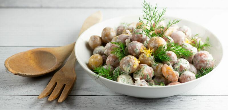 Sour Cream Lemon Potato Salad