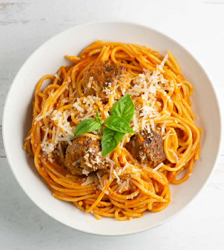 easy one pot spaghetti and meatballs