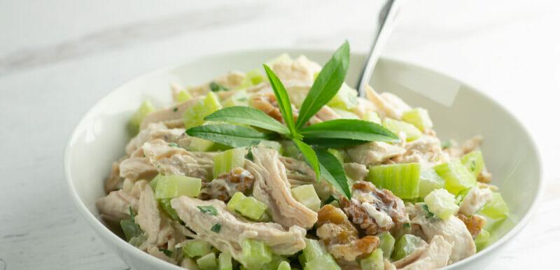 easy tarragon chicken salad