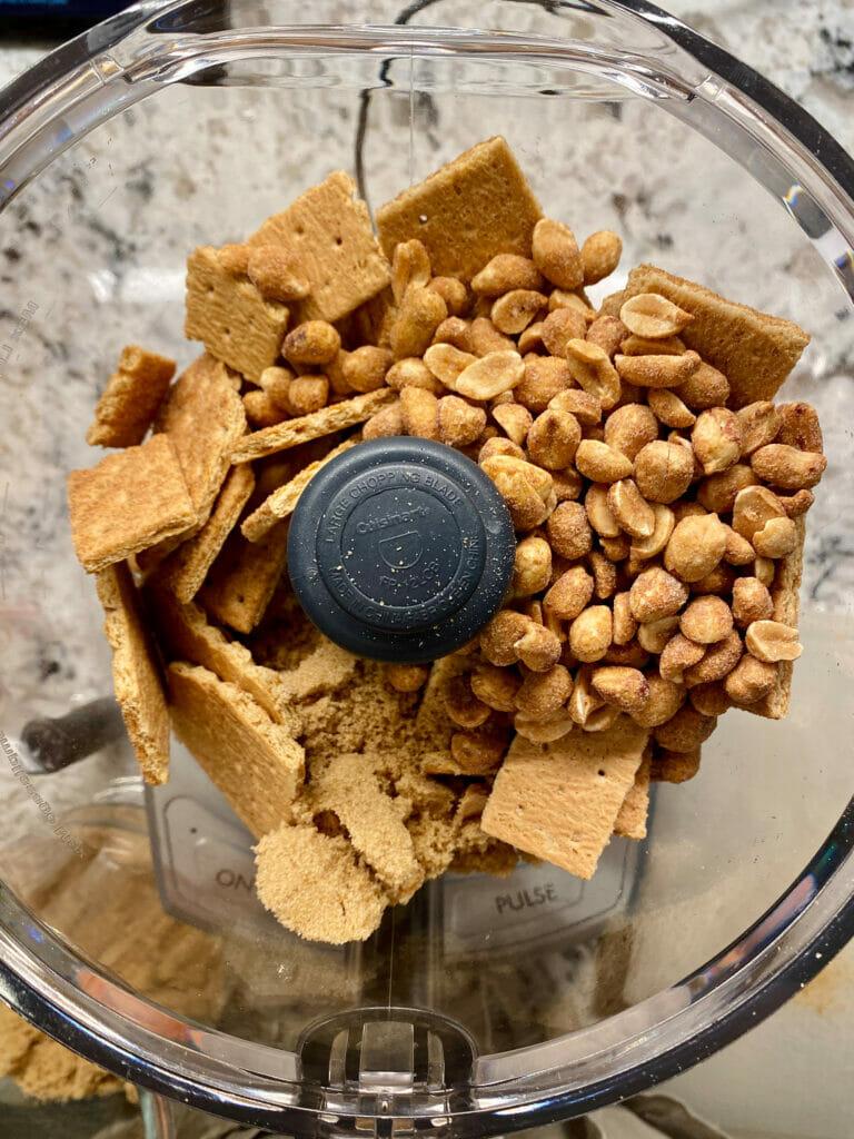 peanut butter graham cracker crust