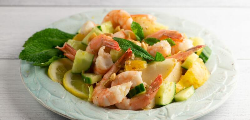 easy summer shrimp salad