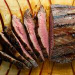 grilled drunken steak