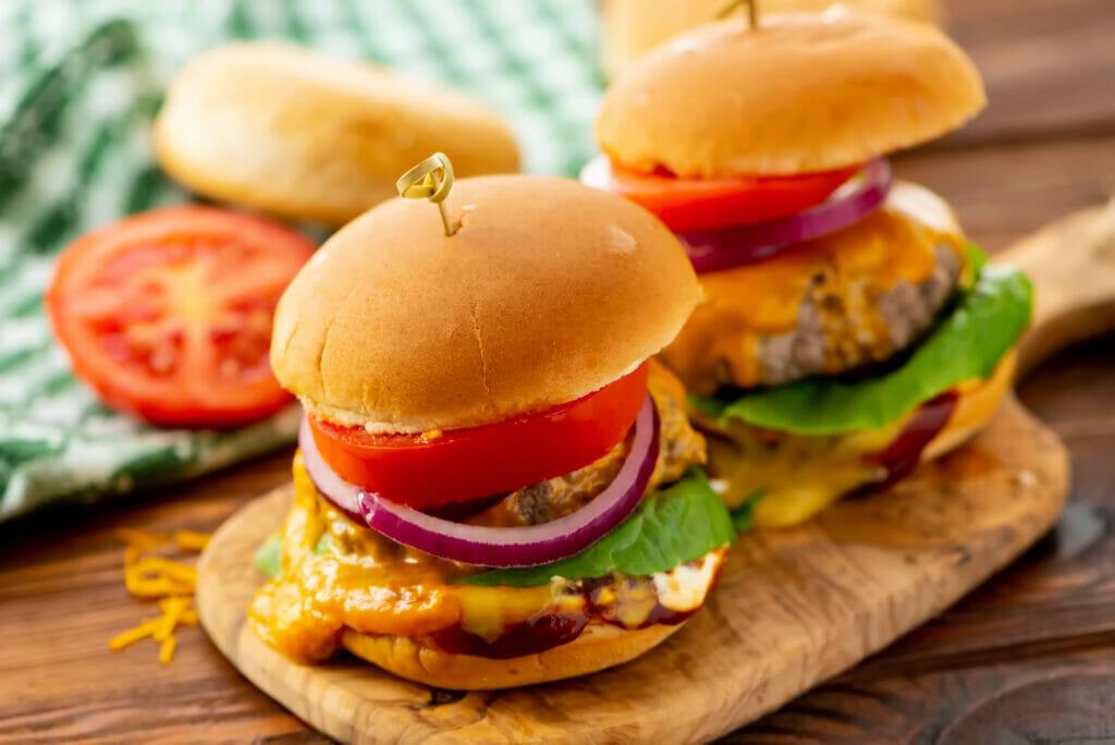 steamed cheeseburgers