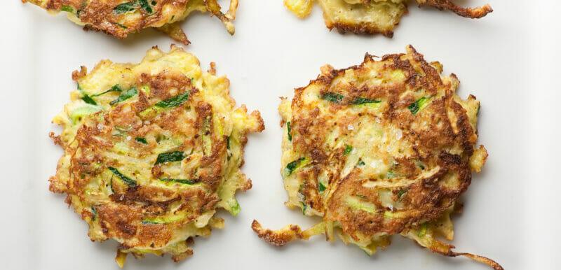the zucchini fritters recipe