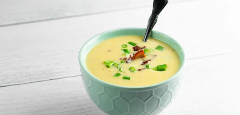 cheesy bacon corn soup
