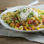 easy summer's end pasta